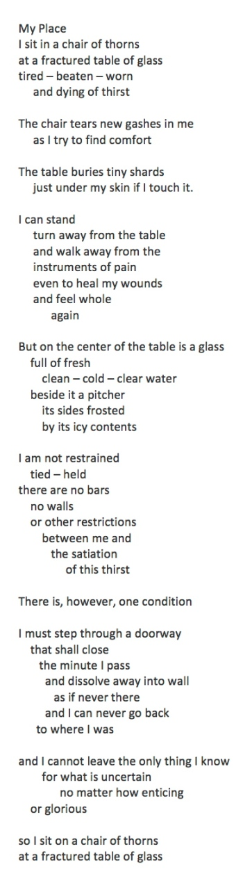 My Place Poem